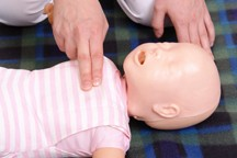Baby CPR classes in Oakland, Berkeley, and San Ramon