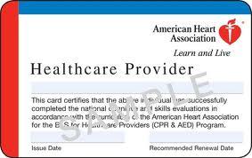 American Heart Association AHA BLS CPR class in Oakland