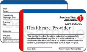 Lost San Jose CPR Certification card