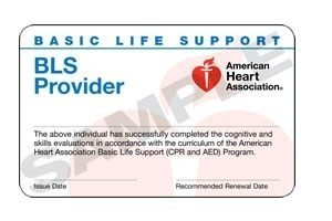 San Jose BLS Card