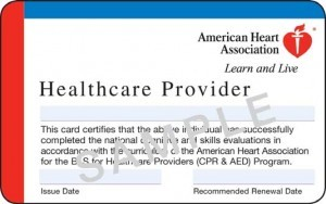 BLS Certification Card in San Jose