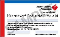 EMSA Pediatric CPR and First-aid Class in San Jose