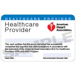Online BLS CPR certification