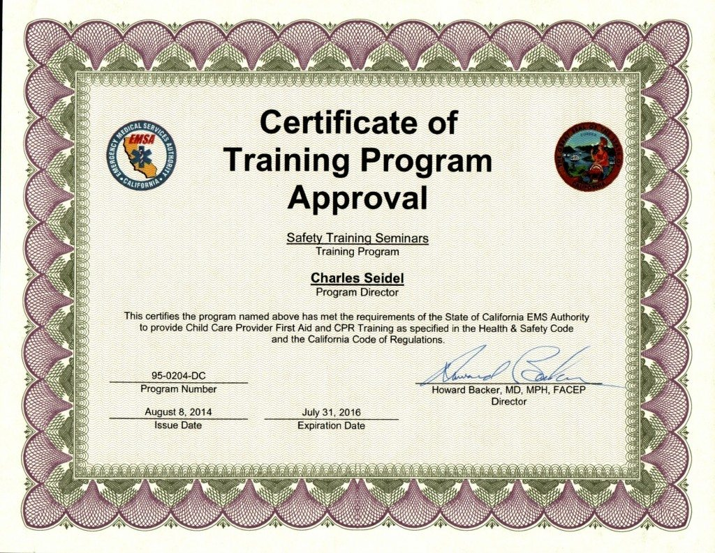 San jose emsa childcare certification training classes san xflitez Choice Image