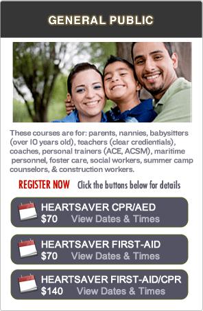 San Jose CPR Certification classes