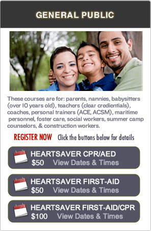 San Jose CPR Certification classes